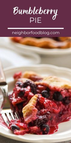 This gorgeous Bumbleberry Pie gets its sweet tart flavor from four kinds of berries plus a hint of rhubarb. Decorated with simple pie crust stars, this is the perfect dessert for summer holidays! Summer Desserts, Sweet Desserts, Easy Pie Crust, Thanksgiving Dinner Recipes, Easy Pie Recipes, Fruit Pie, Trifle Recipe, Sweet Tarts