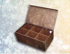 Caja para Bolsitas de Té. Te Box
