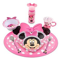 New4pc DISNEY MINNIE MOUSE PINK Purple Twin/Single Girl