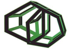"Title : "" Greenish-grey cage"" Acrilic on cut paper  pasted on carboard. 100 x 70 cm.  Signed: Alfonso Cintado 2010. 750 $"