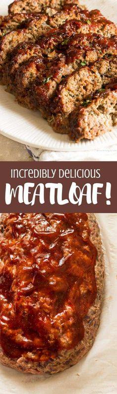 The Best Meatloaf Recipe,classic comfort food, classic dinner, comfort food Good Meatloaf Recipe, Best Meatloaf, Meatloaf Recipes, Meat Recipes, Dinner Recipes, Cooking Recipes, Healthy Recipes, Healthy Meatloaf, Paleo Dinner