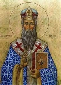 Feast of : Saint Maximus of Turin (? - 408 and 423)  Maximus is believed to have been a native of Rhaetia (Modern day Northern Italy.  He was a Bishop and writer. The city of Turin honors him as its patron ...(Read the rest of his story here:) https://www.facebook.com St.Eugene.OMI?ref=hl