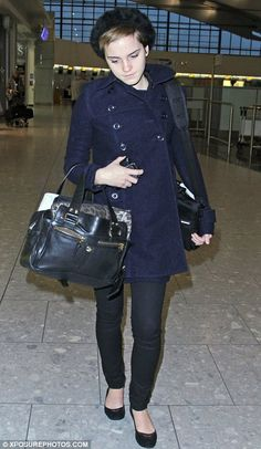 Simple style: Emma Watson