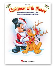 Another great find on #zulily! Christmas With Disney Piano Songbook #zulilyfinds