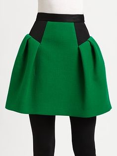 Milly Raquelle Combo Skirt