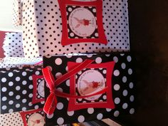 Olivia the pig party favor bags that I made.
