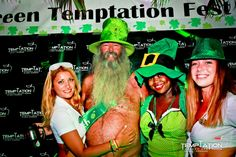 If it's green and sexy it's surely tempting! #GreenTemptationFest #StPatricks #TemptationResort
