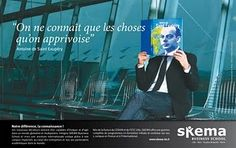 Campagne SKEMA: Notre différence, la connaissance! | Noir sur Blanc