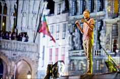 Stromae. Grand Place. Brussels. October 2013 © EDanhier