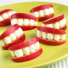 Apple Smiles would be great for kids school lunch