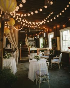 """See the """"The Reception """" in our A Vintage-Inspired Barn Wedding Woodstock, Connecticut gallery"""