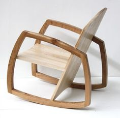 Christopher Mckimmie rocking chair design by Brendan Gallagher, made by Christopher Mckimmie. The timber he use is ash timber. Rocking Chair Plans, Wooden Rocking Chairs, Classic Furniture, Fine Furniture, Furniture Design, Furniture Buyers, Furniture Dolly, Furniture Removal, Chair Design Wooden