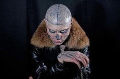 Toronto Fashion Week: Rick Genest 'Zombie Boy' creeps for Montreal's Mackage - thestar.com