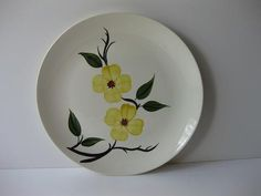 Shop for on Etsy, the place to express your creativity through the buying and selling of handmade and vintage goods. Blue Ridge, Dinner Plates, Dinnerware, Vases, Roots, Decorative Plates, Southern, Gadgets, Porcelain