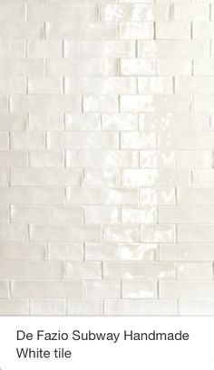 Elida Ceramica Hand Crafted White Subway Ceramic Wall Tile (Common ...