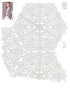 引用 七个单元花钩成的披肩 - 伊莲的日志 - 网易博客