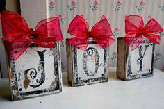 These are so cute! They make me joyful just looking at them! From LeMaisonBelle on Etsy