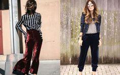 Calça de veludo também é uma ótima alternativa para quem quer apostar na tendência. Independente do ... - Fotos: Pinterest