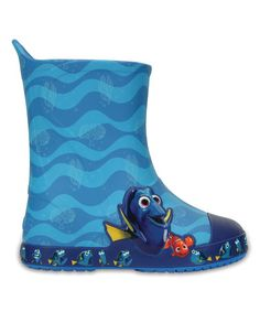 Loving this Ocean Bump It Finding Dory™ Rain Boot on #zulily! #zulilyfinds