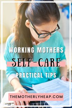 Balancing work and home can be exhausting. Self-care is critical for your overall wellness and health. Here are practical self-care tips for working moms when time is short. #selfcare Working Mother, Working Moms, Self Development, Personal Development, Work Life Balance Tips, Overwhelmed Mom, Mom Schedule, Highly Sensitive, Sleepless Nights