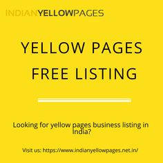 Indian Yellow Pages Indianyellowpages