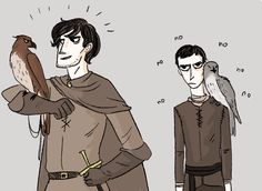 """Young Robert and young Stannis. rachmaninoffs: """" proudwing no no proudwing no """""""
