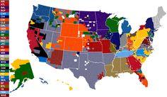 BleacherReport: Demographics of the NFL via Facebook