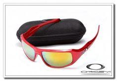 Oakley c six sunglasses red metallic / fire iridium