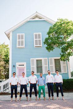 beachy groomsmen look | Dear Wesleyann