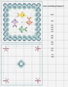 Biscornu Cross Stitch, Free Cross Stitch Charts, Mini Cross Stitch, Cross Stitch Borders, Folk Embroidery, Cross Stitch Embroidery, Embroidery Patterns, Yarn Thread, Homemade Crafts