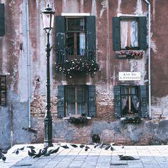 Rio de San Pantalon, Venice, Italy - Charlie Waite.
