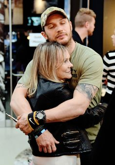 tom hardy and his beloved agent Lindy King