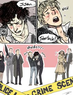 *trollface* cattbuttz: oh gosh,  could you draw Sherlock and Johns sexy orgasm faces???? I want to see  what they would look like in deep climax with each other!