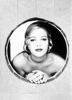 Drew Barrymore by Ellen von Unwerth.