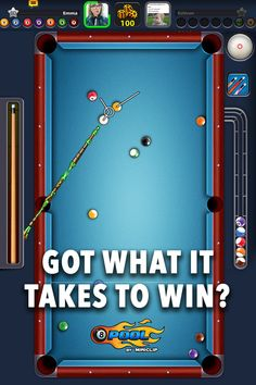 Billard 8 Pool, Pool Coins, Pool Games, What It Takes, Google Play, Puch Moped, Ios, Android, Challenges