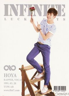 Hoya ♡ #INFINITE - Official Collection Cards Vol.1
