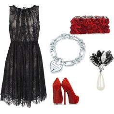 Valentines Date, created by kbrown11 on Polyvore