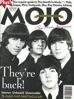 Credit: Mojo Issue 24 – The Beatles, November Image: Mojo Beatles Band, The Beatles, Beatles Books, Beatles Photos, Ringo Starr, George Harrison, John Lennon, Just Good Friends, Classic Rock And Roll