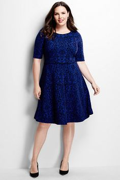 Plus Size A-line Dress Clothing, Shoes & Jewelry : Women : Clothing : Dresses : big sizes http://amzn.to/2luZtGE