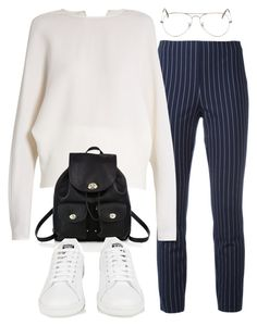 """""""Sin título #3158"""" by camilae97 ❤ liked on Polyvore featuring rag & bone, Carl Kapp, Coach, Ray-Ban and adidas"""