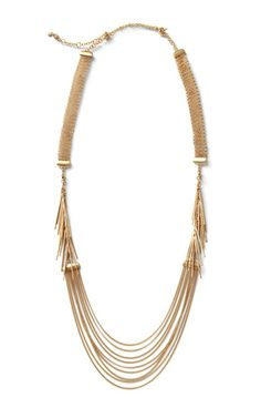 Cabi has stunning jewelry in every collection, and this spring, it is no different. The Riviera Necklace comes apart and can make a shorter necklace and two bracelets.