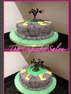 Skylander cake I did today.