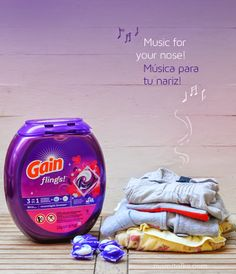 Gain Flings: Music to your Nose {Giveaway}