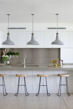 My dream kitchen! Vintage industrial... Perfect!