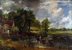 The Hay Wain (landscape: noon) John Constable (British, 1821 Oil on canvas, cm × cm in × in) National Gallery, London Most Famous Paintings, Famous Artists, Chef D Oeuvre, Oeuvre D'art, Wall Art Prints, Poster Prints, Canvas Prints, National Gallery, Pierre Auguste Renoir