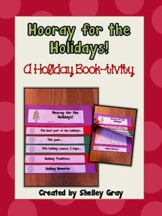 Hooray for the Holidays! {a Holiday Book-tivity}  and it is free! This is so cool!
