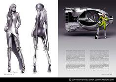 AREA | Daniel Simon's Cosmic Motors