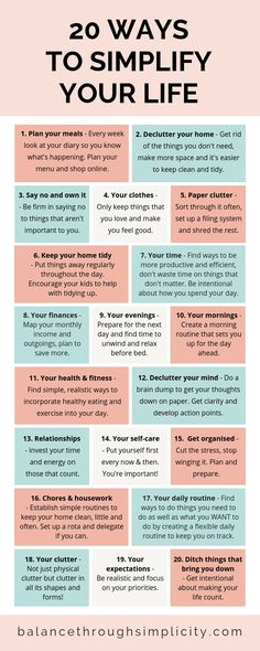 20 ways to simplify your life - Balance Through Simplicity . - 20 ways to simplify your life – Balance Through Simplicity - Vie Motivation, Health Motivation, Motivacional Quotes, Life Quotes, Soul Quotes, Crush Quotes, Relationship Quotes, Vie Simple, Self Care Activities