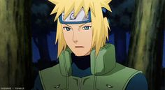 Minato gif - Minato blocking that kunai like it was motjing <- - - I love Minato so much. Such a fine character. And his EYES.