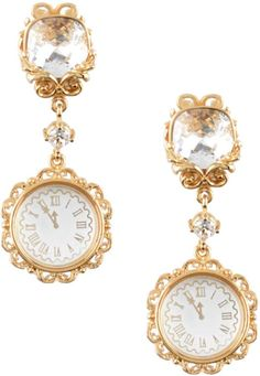 Dolce And Gabbana Earrings, Happy New Year 2020, New Years Eve Party, Bracelet Watch, Bracelets, Accessories, Alice, Fashion, Moda